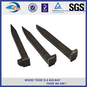 ASTM Carbon steel  Plain oil Railroad Track Spikes For railway