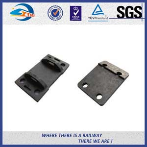 Raw material Plain Surface Steel Tie Plate For Fixing Rail Fasteners