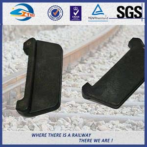 Railwy Nylon Insulator 108 * 49 * 6 Guage Block For Fixing Railway Fasteners