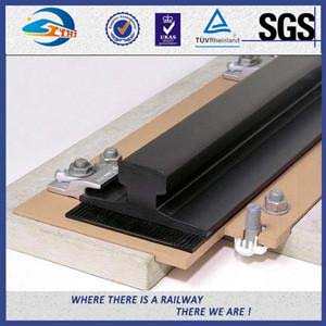 Injection Moulding Rail HDPE / Rubber Track Pads for Customizable Railway Basement